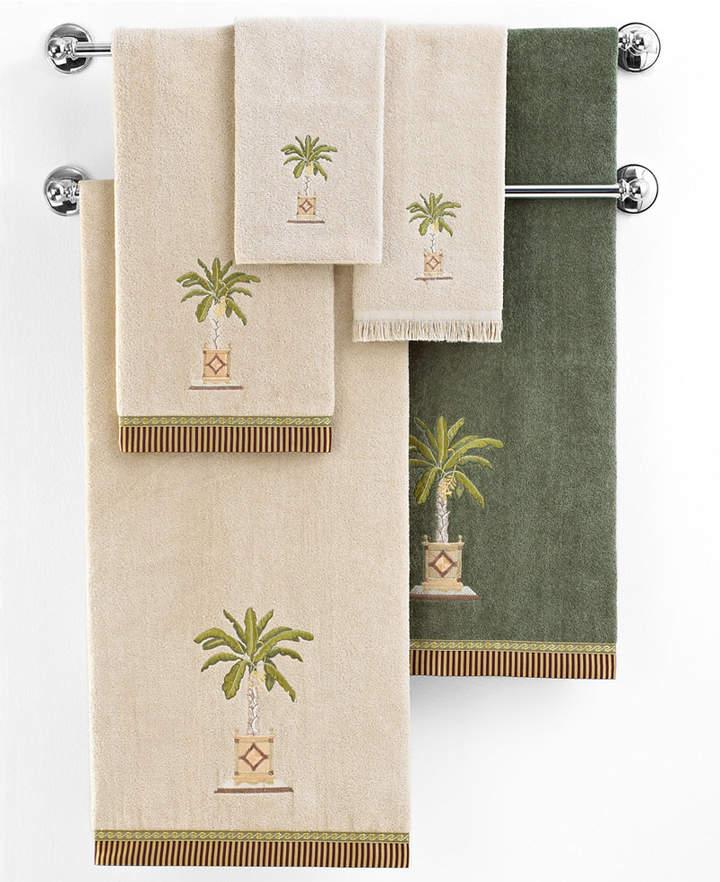 "Avanti Banana Palm"" Fingertip Towel, 11x18"""