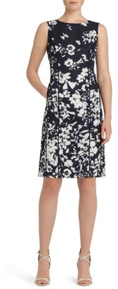 Women's Lafayette 148 New York Evelyn Print Sheath Dress $598 thestylecure.com