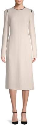 Lanvin Women's Long-Sleeve Midi Dress
