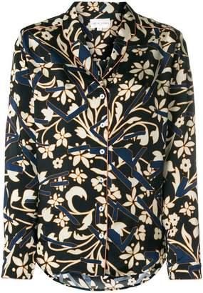 Chloé Stora flower printed blouse