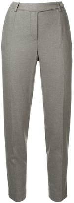 Loro Piana cropped slim fit trousers
