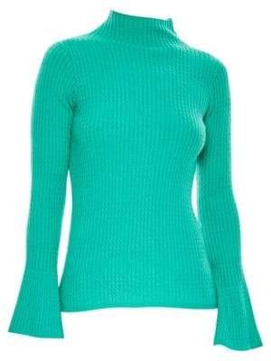 Sandro Estelle Bell Sleeve Sweater