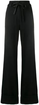 Ann Demeulemeester flared tailored trousers