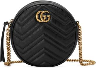 Gucci Mini Marmont 2.0 Leather Canteen Shoulder Bag