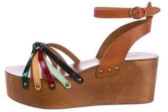 Etoile Isabel Marant Platform Wedge Sandals w/ Tags