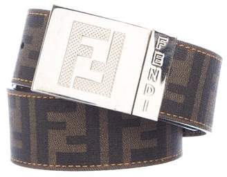 Fendi Reversible Zucca Belt