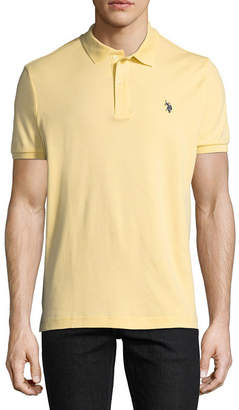 U.S. Polo Assn. USPA Short-Sleeve Solid Interlock Polo