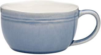 Linea Ecology Crackle Glaze Soup Mug, 450ml (Set of 4), Bonnie