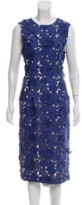 Prabal Gurung Sleeveless Lace Dress