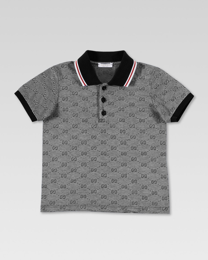 Gucci GG Polo Shirt, Navy