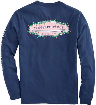Vineyard Vines Long-Sleeve Surf Lights Pocket T-Shirt