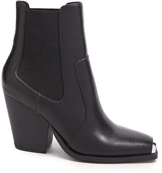 Forever 21 Metal-Trim Chelsea Boots