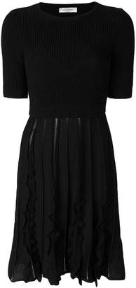 Valentino knitted flared dress