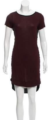 AllSaints Semi-Sheer Knee-Length Dress