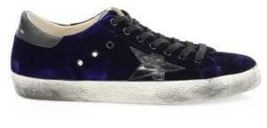 Golden Goose Superstar Velvet Sneakers