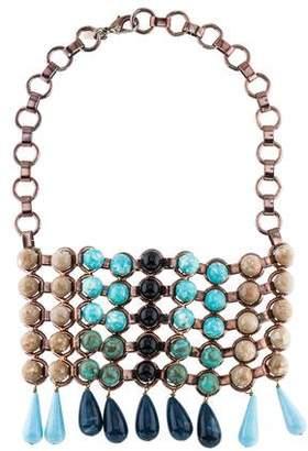 Dannijo Resin Collar Necklace