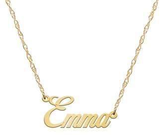 JANE BASCH DESIGNS Jane Basch Personalized Nameplate Necklace