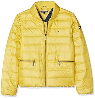 Tommy Hilfiger Girl's Thkg Packable Light Jacket,(Manufacturer Size: 8)