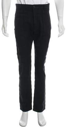 Marc Jacobs Plaid Wool-Blend Pants