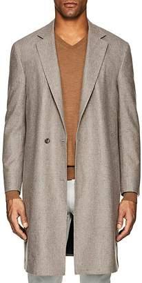 P. Johnson Men's Brushed Wool Topcoat