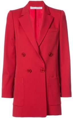 Oscar de la Renta double breasted jacket