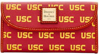 Dooney & Bourke Usc Trojans Large Continental Clutch