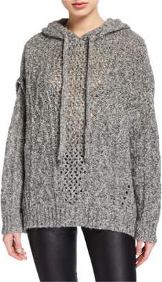 IRO Meadow Chunky Knit Hooded Sweater
