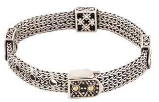 John Hardy Dot Jaisalmer Buckle Bracelet
