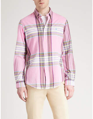 Polo Ralph Lauren Checked regular-fit cotton-woven shirt
