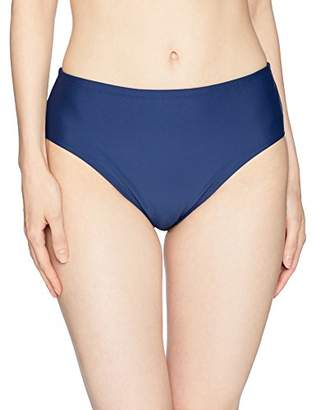 Ellen Tracy Women's Bikini Bottom with Tummy Control