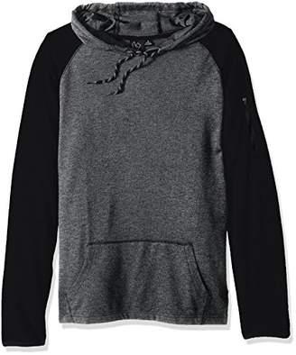 Burnside Men's Juke Long Sleeve Pullover Knit Hooded Shirt