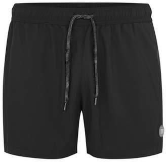 Topman Mens Black Swim Shorts