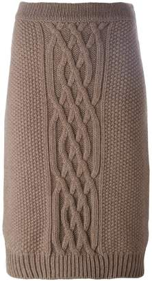 Agnona knitted skirt