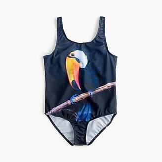 J.Crew Girls' Popupshop® toucan swimsuit