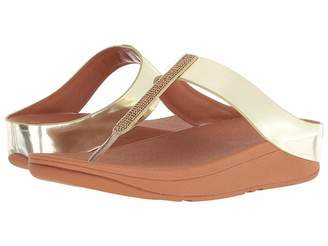 FitFlop Fino Crystal Toe-Thong Sandals Women's Sandals