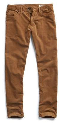 Todd Snyder 5-Pocket Stretch Italian Cord in Camel