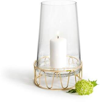Sagaform Gold & Glass Candle Holder