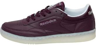 d03c88d3aebd4d Reebok Classics Womens Club C 85 On The Court Trainers Pacific Purple  White Light