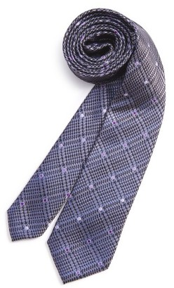 Boy's Michael Kors Check Silk Tie $36 thestylecure.com