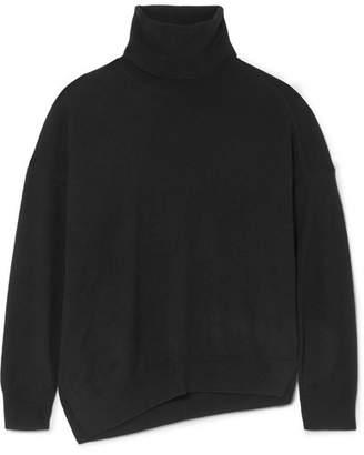 Vanessa Bruno Melanie Wool And Cashmere-blend Turtleneck Sweater - Black