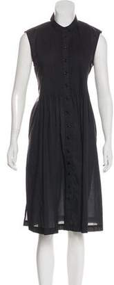 Boy By Band Of Outsiders Pleated Midi Dress