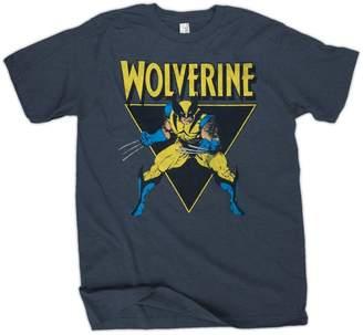 Wolverine Toy Zany Marvel Angle Mens T-Shirt | S