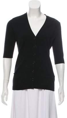 Ralph Lauren Short Sleeve Cashmere Cardigan