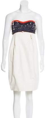 Undercover Embellished Strapless Dress