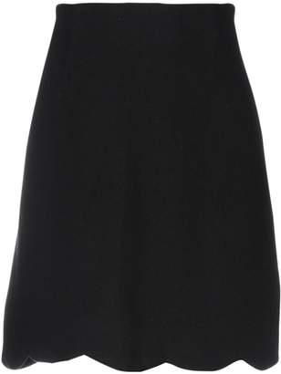 Rose' A Pois Knee length skirts