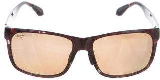 Maui Jim Tinted Square Sunglasses