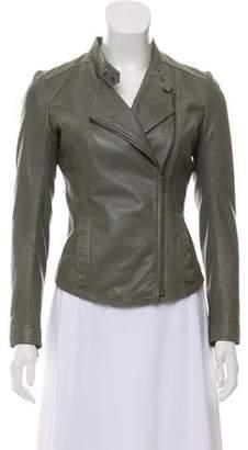 Muu Baa Muubaa Zip-Up Leather Jacket
