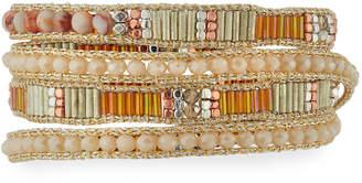 Nakamol Mixed Bead Wrap Bracelet