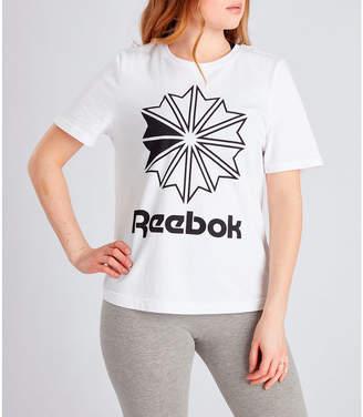 Reebok Women's Classics Big Logo Graphic T-Shirt