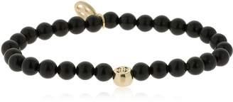 Luis Morais Gold Jerusalem Cross Mantra Bracelet